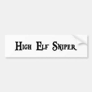 High Elf Sniper Bumper Sticker