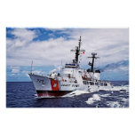 High Endurance Cutter:  USCG Jarvis Poster