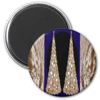 High Energy Decorative Jewels 2 Inch Round Magnet