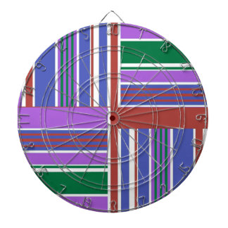 HIGH Energy European Style Patterns Dartboard With Darts