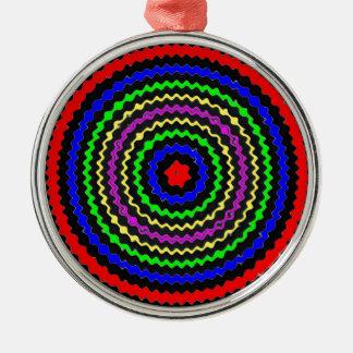 HIGH Energy ; TARGET Waves Metal Ornament