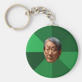 High Expectations Asian Father Basic Round Button Keychain