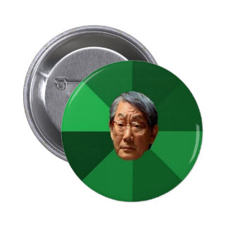 High Expectations Asian Father Pinback Button