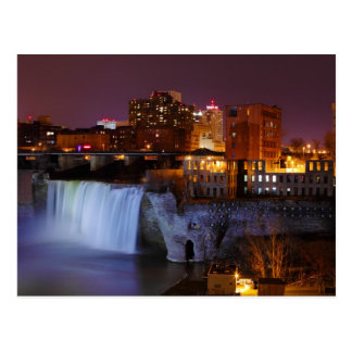 High Falls in Downtown Rochester New York Postcard