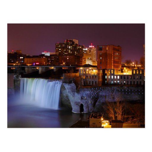 High Falls in Downtown Rochester New York Postcards