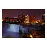 High Falls in Downtown Rochester New York Print