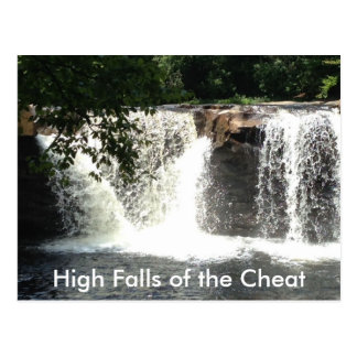High Falls of the Cheat River Waterfall Postcards