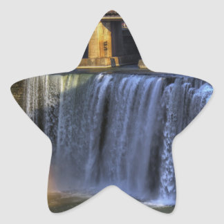 High Falls Rainbow Star Sticker