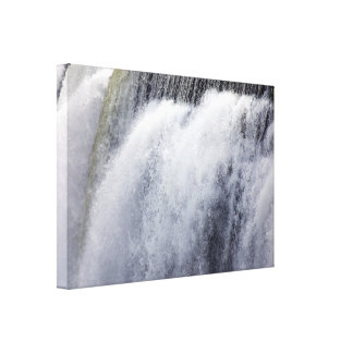 High Falls, Rochester, New York Wrapped Canvas