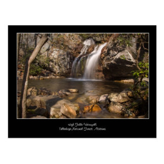 High Falls Waterfall, Talladega National Forest Postcard
