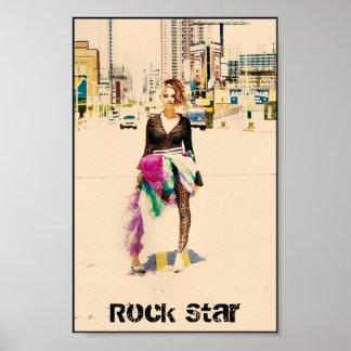 high fashion 200, Rock Star Poster