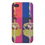 High Fashion Pop art ART IPhone  hard shell case Case For iPhone 4