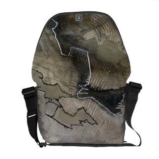 High Fashion Rickshaw Messenger Bag