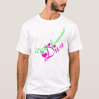 High Femme Diva T-shirt