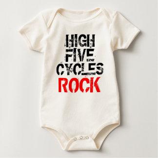 High Five Cycles Rock Baby Bodysuit
