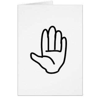 high five note cards