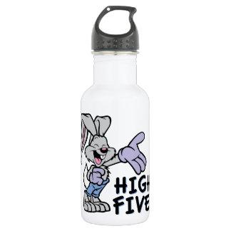 High Five 18oz Water Bottle