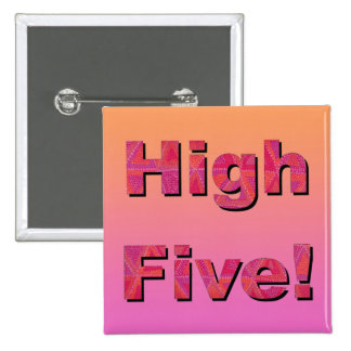 High Five! Pinback Button