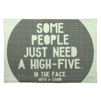 High-five Cloth Place Mat