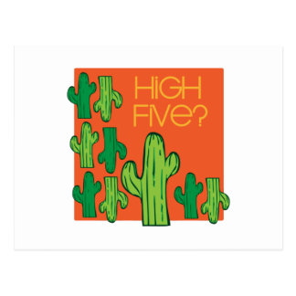 High Five? Postcard