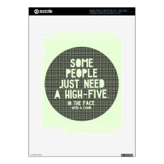 High-five Skin For iPad 3