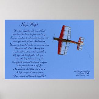 High Flight Poem Poster #2