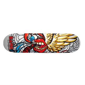 High fly´s word skateboard