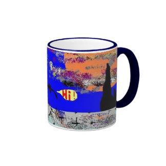 High Flyer 2 Ringer Coffee Mug