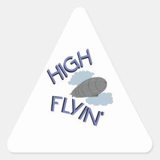 High Flyin Triangle Sticker