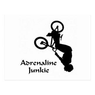 High Flying Adrenaline Junkie Postcard