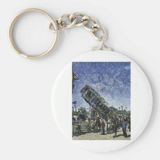 High Flying Carrousel Keychain