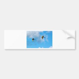 High Flying Cockatoo Bumper Sticker