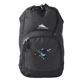 High Flying Freestyle Motocross Rider High Sierra Backpack