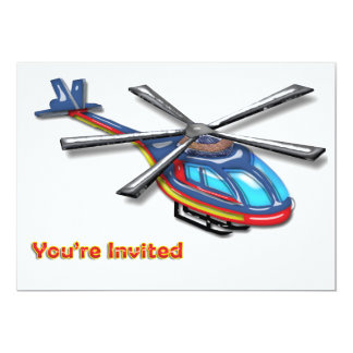 High Flying Helicopte Invite
