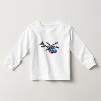 High Flying Helicopter Toddler T-shirt
