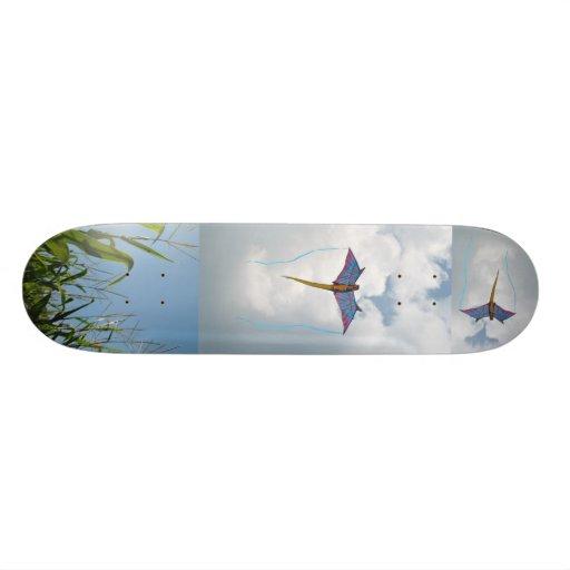 High Flying Kite Skateboard