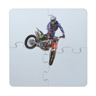 High Flying Motocross Puzzle Coaster