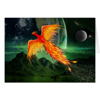 High Flying Phoenix Card