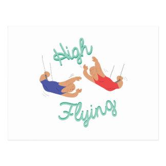 High Flying Postcard