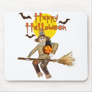 High Flying Scarecrow Mouse Pad