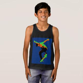 High Flying Skater - Skateboarder Tank Top