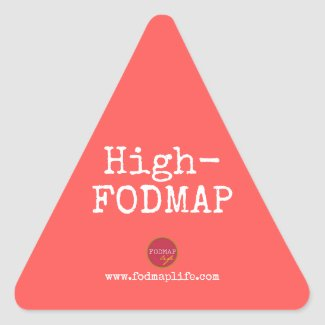 High-FODMAP Sticker