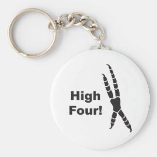 High Four! Keychain