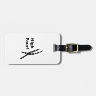 High Four! Luggage Tag