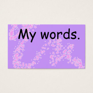 High frequency Word card - spelling resource