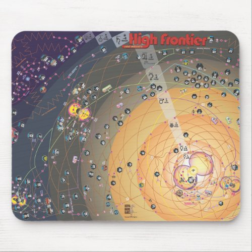 High Frontier Mouse Pad