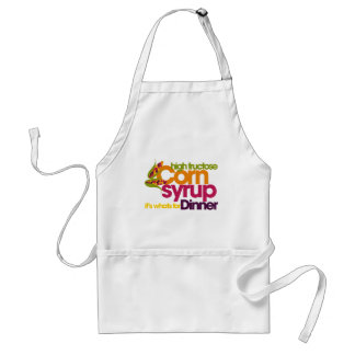 High Fructose Corn Syrup Adult Apron
