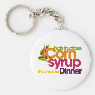 High Fructose Corn Syrup Keychain