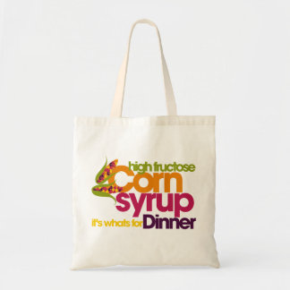 High Fructose Corn Syrup Tote Bag