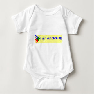 High Functioning Autistic Baby Bodysuit